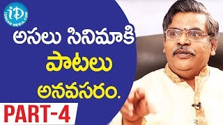 Lyricist Sirivennela Seetaramasastri Exclusive Interview - Part #4 || Koffee With Yamuna Kishore - IDREAMMOVIES