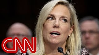 DHS secretary pressed about Trump immigration meeting - CNN