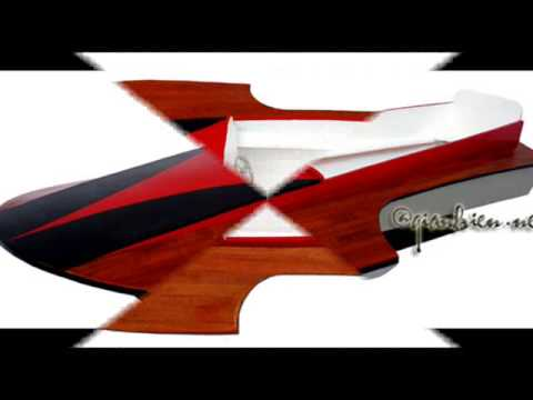 Baby Hydroplane Wooden Model Ships Handicrafts Wooden Boat Model