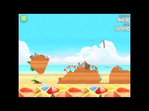 Angry Birds Rio Trophy Room Melon Walkthrough 3 Star