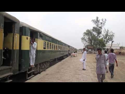 Allah Ditta at the Mandi Railway Asteshan