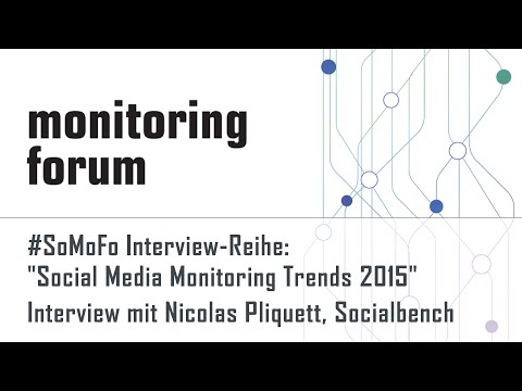 #somofo15 Interview mit Nicolas Pliquett, Socialbench