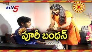 Pavitra Ties Rakhi to Akash | Puri Jagannadh Childrens Interview