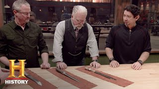 Forged in Fire: Bonus - Round 2 Deliberation (Season 4, Episode 9) | History - HISTORYCHANNEL