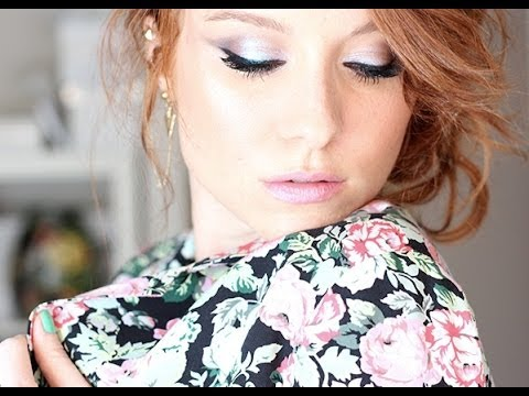 Maquillage de fêtes #1 / Party make up : Glitter