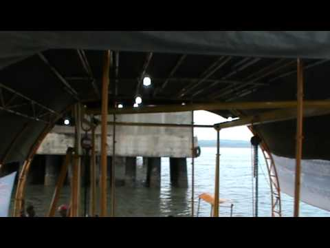 Prototype testing of Indonesian Marine Current Turbine LHI BPPT under Suramadu Bridge Pier 56