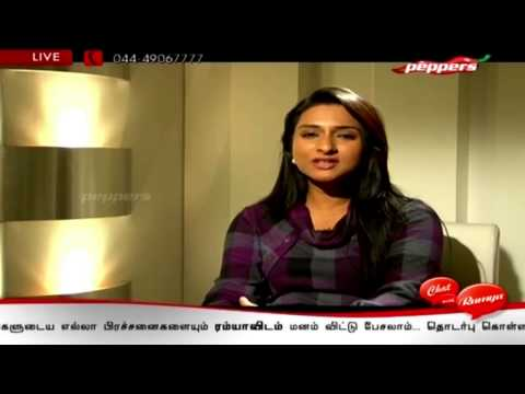 Tamil TV Serial Actress Ramya | Chat with Ramya | 10th Jan 2014