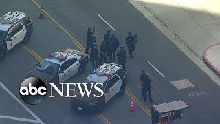 Police search LA mall for reported gunman - ABCNEWS