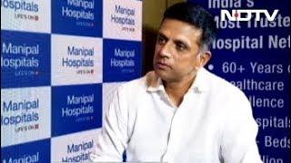 हेल्थ केयर के ब्रैंड एंबेसेडर बने राहुल द्रविड़ - NDTVINDIA
