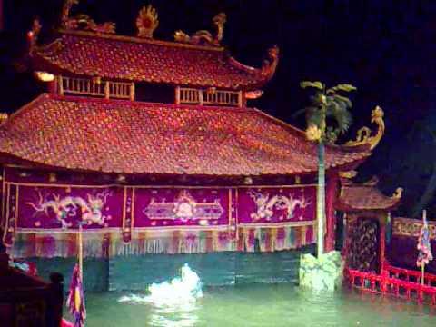 Water Puppet Theatre, Hanoi, Vietnam