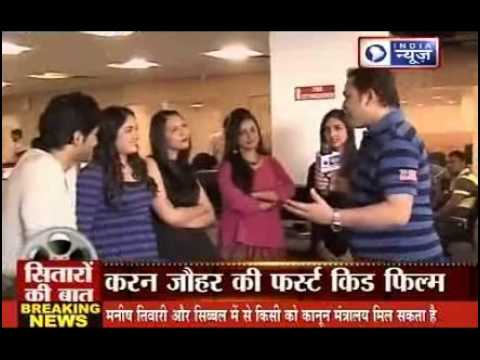 Film Gippi's Actors exclusive from India News Studio