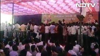 कर्नाटक में येदियुरप्पा के बेटे को टिकट नहीं, कार्यकर्ता नाराज - NDTVINDIA