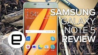 Samsung Galaxy Note 5 Review - ENGADGET