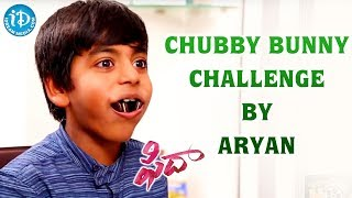 Chubby Bunny Challenge By Aryan || #Fidaa || Talking Movies With iDream - IDREAMMOVIES
