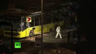 WATCH LIVE: Suspected car bomb blast near Besiktas stadium in Istanbul - RUSSIATODAY