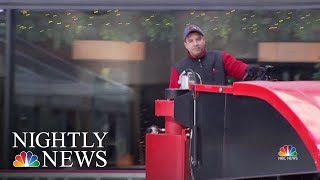 Meet The Man Who's Maintained The Rink At 30 Rock For Three Decades | NBC Nightly News - NBCNEWS
