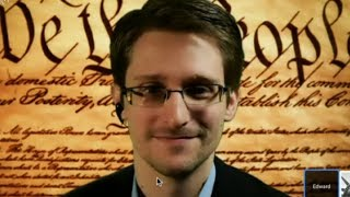 Snowden's first live: 'Constitution being violated on massive scale' (FULL VIDEO) - RUSSIATODAY