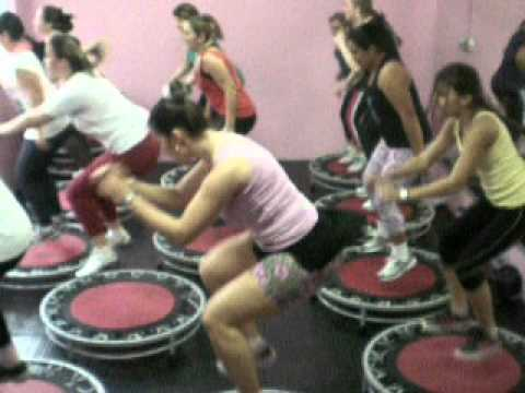 Dança Kuduro, Aula de Jump Academia Cia do Corpo Prof Tici, turma 16hrs