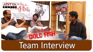 Operation Gold Fish Team Interview  || Aadi, Sasha Chettri, Nitya Naresh || Adivi Sai Kiran - ADITYAMUSIC