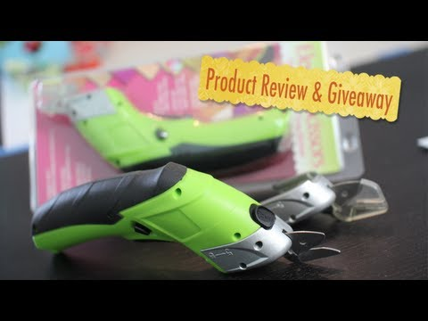 Simplicity's Electric Scissors- Product Review