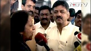 """My Magnetic Personality"": DK Shivakumar On Bringing Back Missing Lawmakers - NDTV"