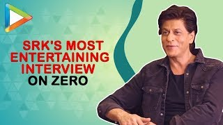 Shah Rukh Khan talks about Zero – his biggest film till date | Full Interview - HUNGAMA