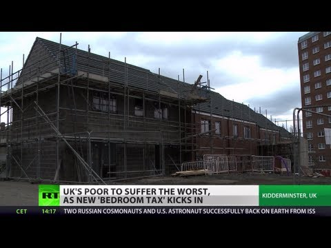 Bearing the Brunt: 'Bedroom tax' to hit UK's poor hardest