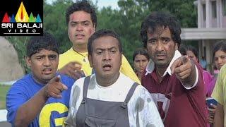 Thriller Hyderabadi Movie Adnan Comedy with Friends || R.K, Aziz, Adnan Sajid - SRIBALAJIMOVIES