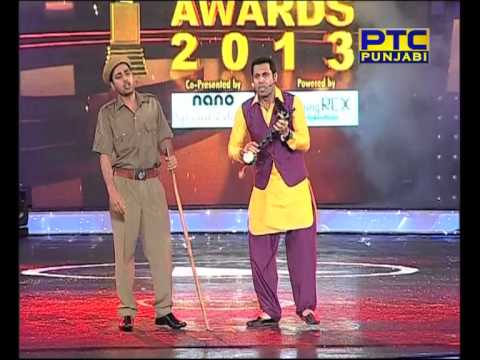 PTC PUNJABI MUSIC AWARDS 2013 BINNU DHILLON PERFORMANCE