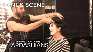 See Kris Jenner Transform Into a Mime - EENTERTAINMENT