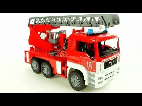 Bruder MB Sprinter Fire Engine – Muffin Songs' Oyuncakları Tanıyalım