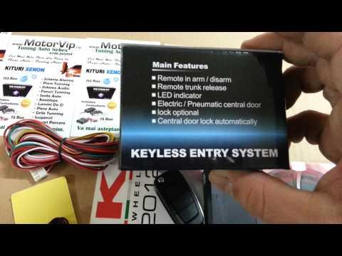 Inchidere centralizata cu telecomanda, cheie briceag audi - www.MotorVIP.ro 0748405954