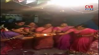 Dussehra Festival Celebrations In Moosapet | Hyderabad | CVR NEWS - CVRNEWSOFFICIAL