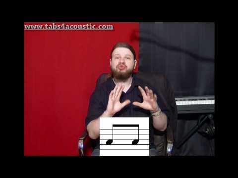 Cours de guitare : Le rythme 2 : Les croches - Partie 1
