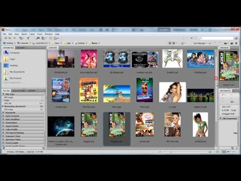 Create a Flyer In Photoshop tutorial