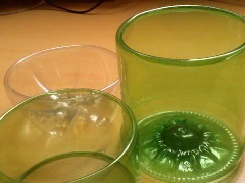 Aprenda a fazer acabamento boleado na garrafa pet passo a passo