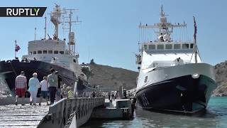 From ships to small boats: Navy set to guard Crimean Bridge - RUSSIATODAY