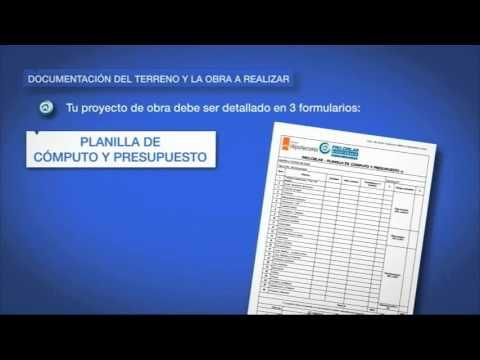 Créditos PROCREAR  Como presentar la documentación del terreno y de  la obra a realizar