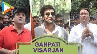 Ganpati Visarjan with Ranbir Kapoor,Rishi Kapoor & Randhir Kapoor at RK Studio Part 1 - HUNGAMA