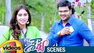 Regina Cassandra Impressed by Manchu Manoj | Shourya Telugu Full Movie Scenes | Prakash Raj - MANGOVIDEOS