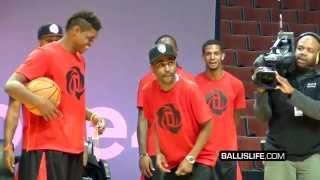 D Rose & Big Sean Judged A Dunk Contest