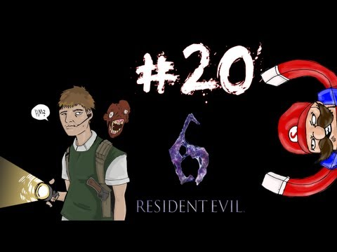 Residential Evil - Resident Evil 6 Prelude/Leon Campaign Walkthrough / Gameplay Part 20 - Letting Go