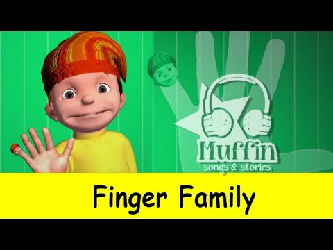Muffin Songs – The Finger Family 3D (Daddy Finger) Original Muffin Songs Version