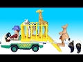 Playmobil Zoo Park Kangaroo Transport and Animal Care Station Playsets - Animals For Kids