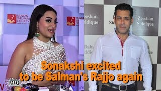 "Sonakshi excited to be Salman's ""Rajjo"" again in ""Dabangg 3"" - IANSLIVE"