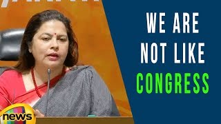 We are not Like Congress, We Will Not Behave Harsh On Leaders, Says Meenakshi Lekhi | Mango News - MANGONEWS