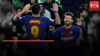 La Liga: Christiano Ronaldo scores four goals as Madrid beat Girona - TIMESOFINDIACHANNEL