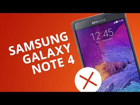 Galaxy Note 4: 5 motivos para você NÃO comprar o aparelho