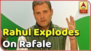 Rahul Gandhi explodes on Modi govt after SC judgement on Rafale deal: 2019 Kaun Jeetega Fu - ABPNEWSTV