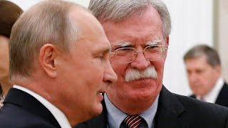 Bolton delivers remarks after talks with Putin - WASHINGTONPOST
